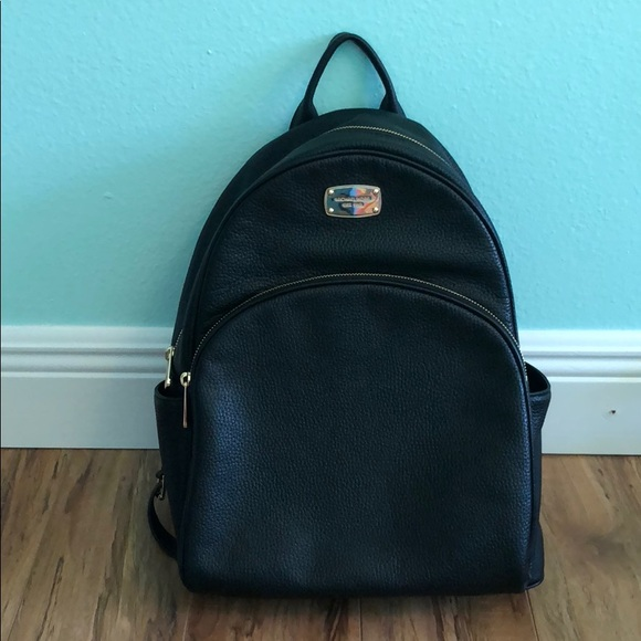 b6e343e8b2d5 NWT Michael Kors Abbey Large leather backpack